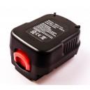 Bateria NiMH Compatível Black&Decker 12V 2100mAh