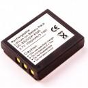 Bateria Li-ion Compatível  3,7V 1250mAh