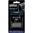 Combi Pack Braun 31B (Lâmina+Rede) 5000/6000 Series 3 Preto