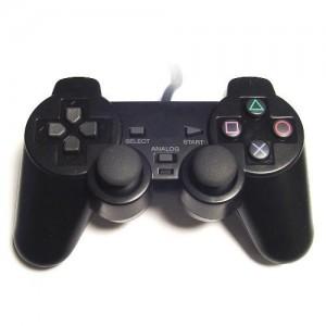 Comando Compatível PLAYERGAME PS2 Preto