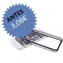 Bumper Plástico C/ Botones iPhone 5 (Negro)