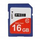 Cartão Memória 16GB High Speed Class 10 SDHC