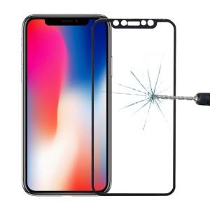 Protetor Vidro Temperado iPhone X Preto