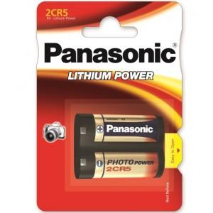 PILHA LITHIUM 2CR5 6V 1400MA PANASONIC