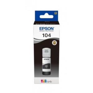 Recarga de Tinta EPSON 104 Preto (65ml) - EcoTank 2710/2711/2712/2714/ 2720/2721/2726/4700