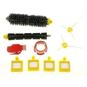 Kit de manutenção (inclui escovas, filtros e acessórios de limpeza)